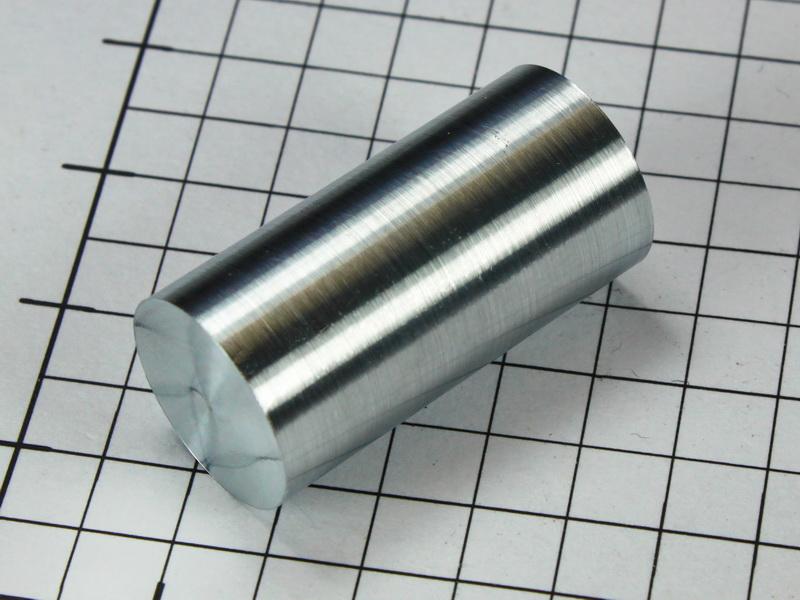 Pure Zinc rod 99.995% – 1 inch x 1/2inch dia.