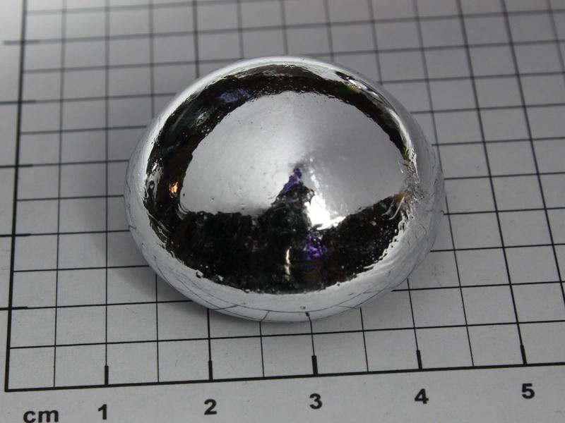 Aluminum Ingot (Hemisphere) 28.00g – 99.999%