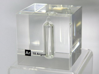 smart-elements - Acrylic Element cube - Ar Argon - 50mm