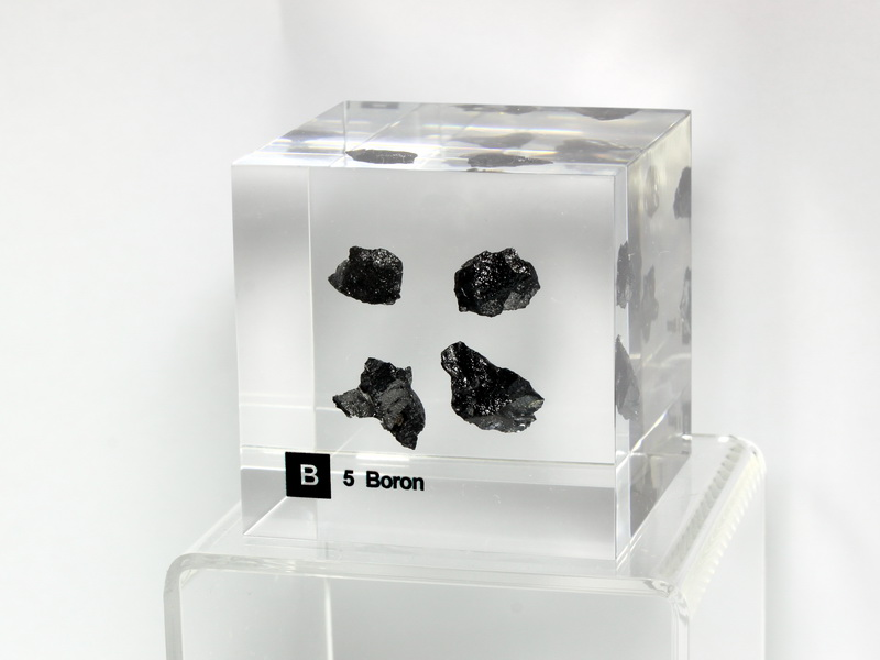 Acrylic Element cube – Boron B – 50mm