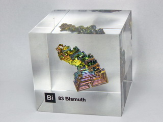 Acrylic Element-block Bismuth Bi - 50mm