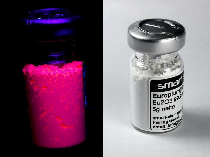 Europium(III)-Oxide 99,99% – Eu2O3 – 50.0 grams