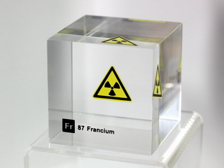 smart-elements - Acrylic Element cube - Francium - 50mm