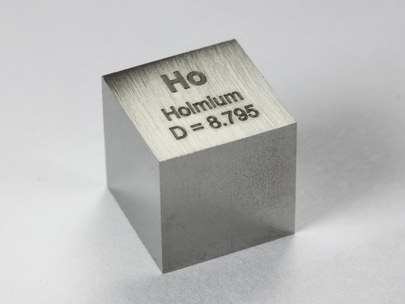 Holmium high precision density-standard cube 1cm3