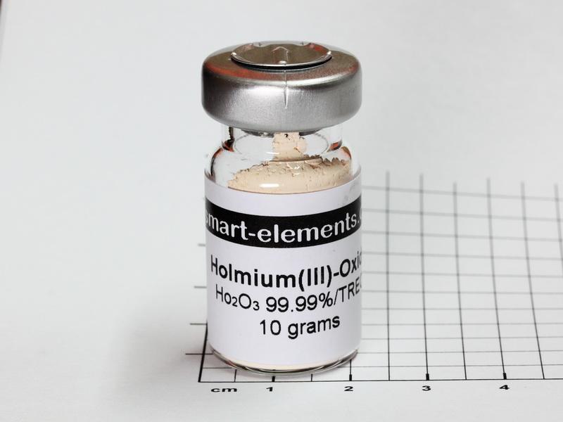 Holmium(III)-Oxide 99,99% – Ho2O3 – 10.0 grams