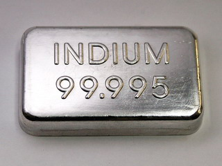 smart-elements - 10 pcs. Indium Metal Ingot 99,995% min.  -  100 grams