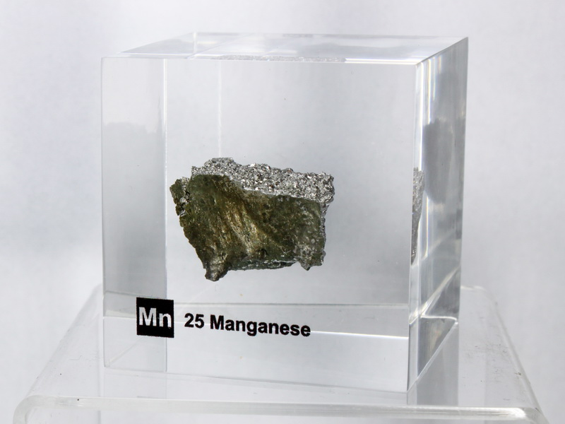 Acrylic Element cube – Manganese Mn – 50mm