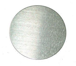 smart-elements - High purity molybdenum disc Ø 1 inch x 0.5mm - 99.95% purity
