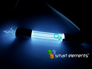 smart-elements - Super bright Oxygen spectrum discharge tube 100mm - NEW