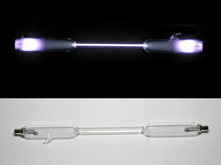 smart-elements - NEW! Ozone spectrum discharge tube