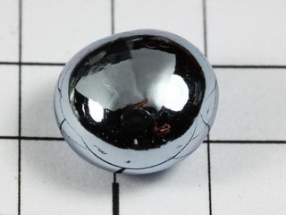 Big Osmium melted bead, 5.03 grams 99,95% purity!
