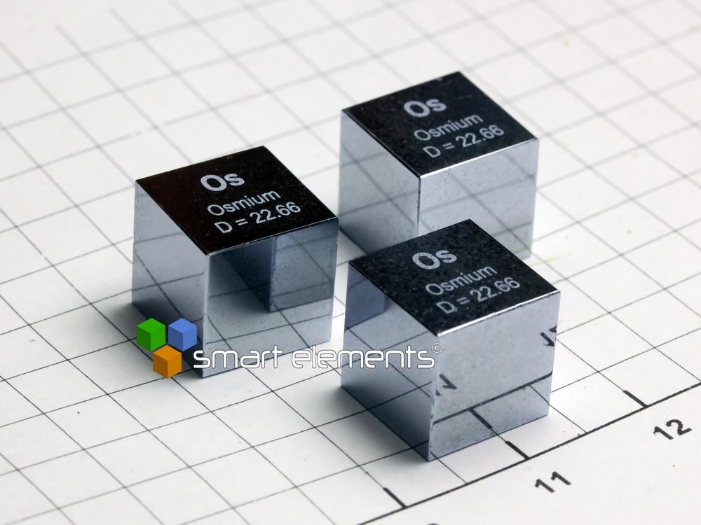 OSMIUM precision density-standard cube 1cm3