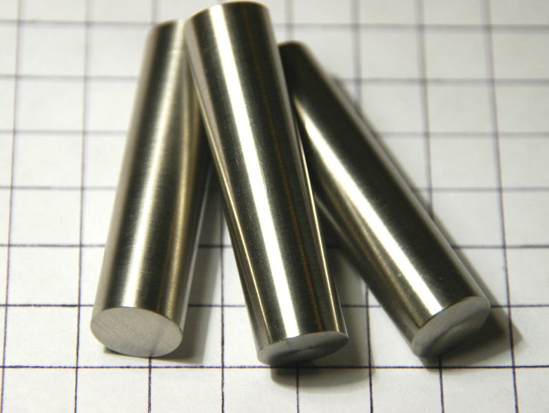High purity Palladium metal rod – polished  99.95%  – ~ 76g