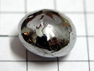 Palladium melted pellet, purity 99,95%, 3.0 grams