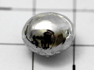 Rhodium melted pellet  1.0g, purity 99,97%