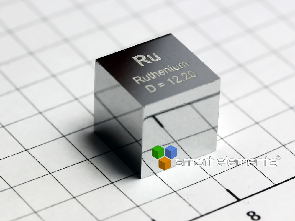 Ruthenium precision density-standard cube 10x10x10mm