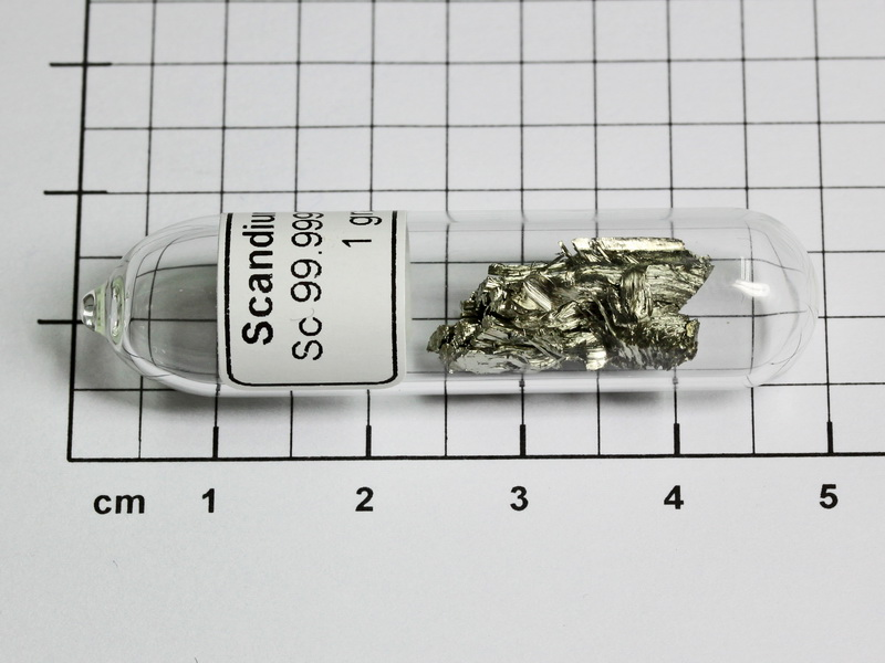 scandium metall sublimiert unter argon ebay. Black Bedroom Furniture Sets. Home Design Ideas