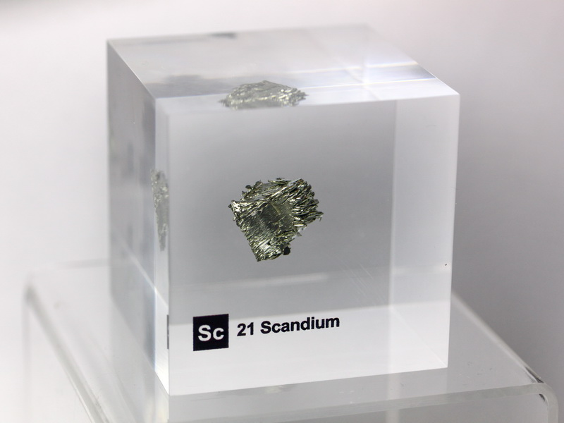 Acrylic Element-block Scandium Sc – 50mm