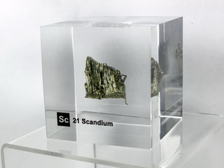 Acrylic Element-block Scandium Sc - 50mm