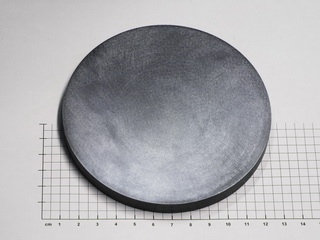 smart-elements - Large tantalum disc electron beam melted Ø115x10mm 1790g