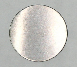 smart-elements - Tantalum disc Ø 1 inch x 0.5mm - 99.95% purity