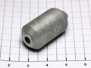smart-elements - Tungsten electrode 99.95% - 84.6 grams- ~Ø 15 x 30mm