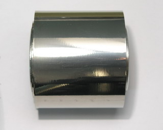 Zirconium foil - 99.7% - 50x50mm x 0.009mm from the coil